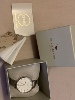 Olivia Burton Watch With Metal Strap silver-colored