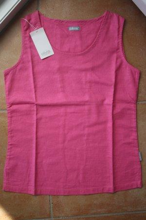 Olivia Shirt / Leinen Shirt / Sommershirt / Shirt / Top / Trägertop / Blusentop / Bluse / Hemd / Gr. 38 (M) / Pink / Rosa / Rosè / NEU mit Zettel!