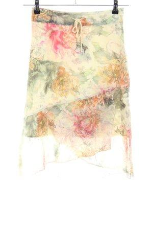 Olsen Bleistiftrock abstraktes Muster Casual-Look