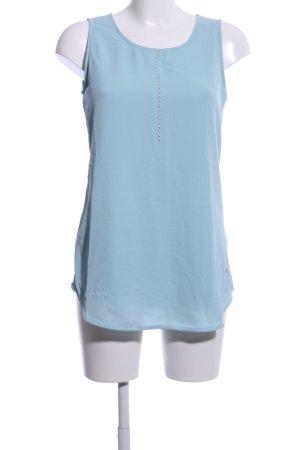 Olsen Blusentop blau Casual-Look