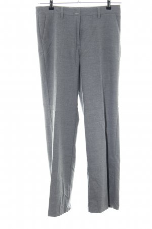 Olsen Bundfaltenhose hellgrau meliert Business-Look