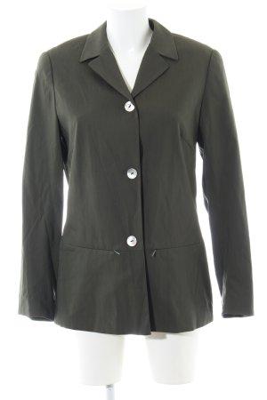 Olsen Collection Long-Blazer khaki Casual-Look