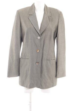 Olsen Collection Long-Blazer hellgrau Business-Look
