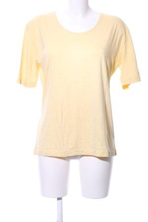 Olsen Collection T-Shirt blassgelb Casual-Look