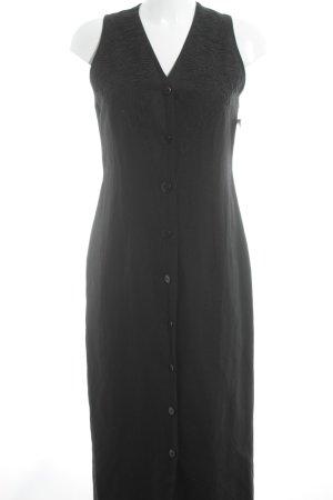 Olsen Collection Trägerkleid schwarz Elegant