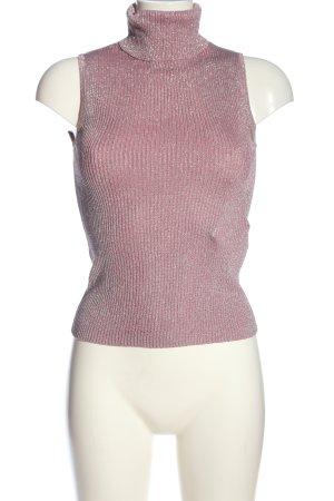Olsen Gebreide top roze casual uitstraling