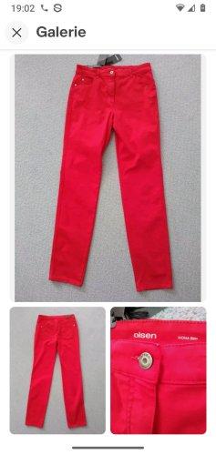 Olsen Jersey Pants brick red