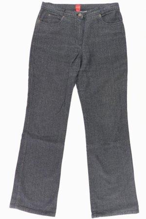 Olsen Jeans a zampa d'elefante nero Cotone