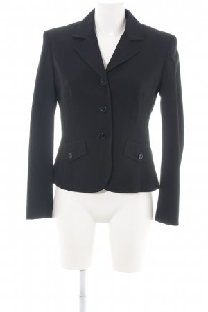 Olsen Jerseyblazer schwarz Business-Look