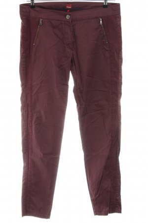 Olsen Peg Top Trousers red casual look