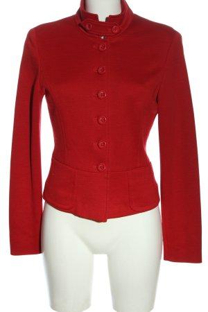 Olsen Korte blazer rood casual uitstraling