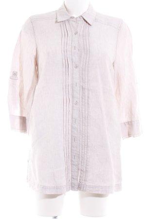 Olsen Langarmhemd hellbeige Casual-Look