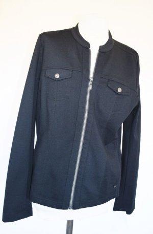 Olsen Between-Seasons Jacket black viscose