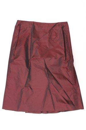 olsen Midirock Größe 38 rot aus Polyester