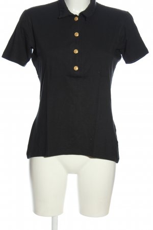 Olsen Polo-Shirt schwarz Casual-Look