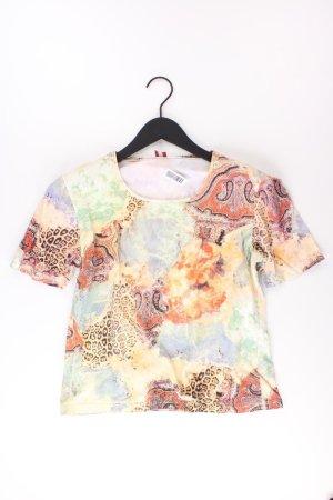 olsen Printshirt Größe 44 Kurzarm Vintage mehrfarbig aus Baumwolle