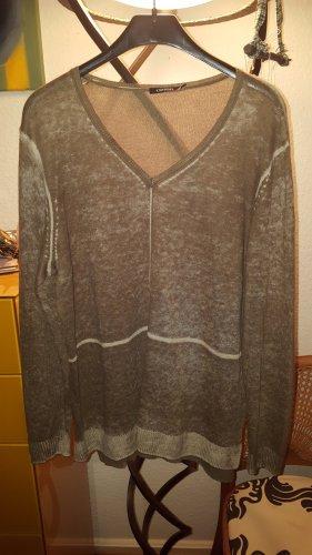 Olsen Pullover hellbraun batik Gr44