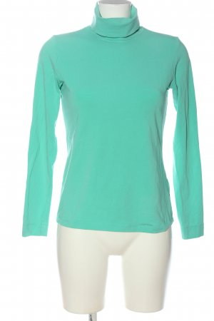 Olsen Turtleneck Shirt turquoise casual look