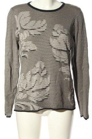 Olsen Sweter z okrągłym dekoltem Na całej powierzchni W stylu casual