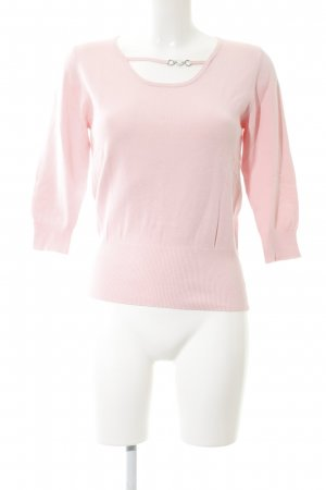Olsen Rundhalspullover pink Elegant