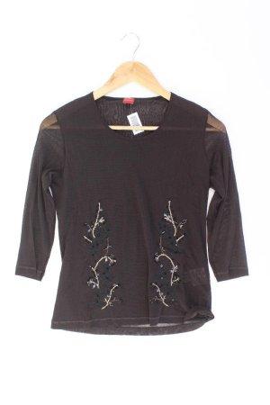 olsen Shirt Größe 40 3/4 Ärmel braun aus Polyamid