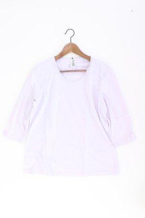 olsen Shirt Größe 44 3/4 Ärmel lila aus Baumwolle