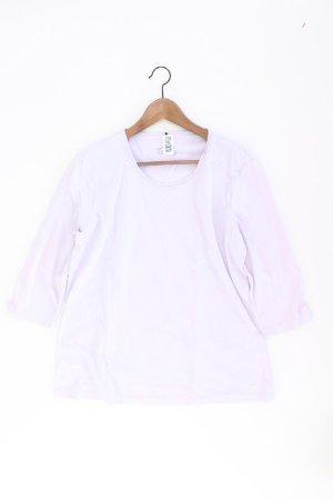 olsen Shirt Größe 44 lila aus Baumwolle