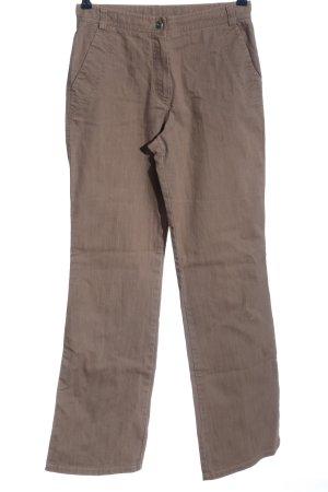 Olsen Straight-Leg Jeans braun Casual-Look