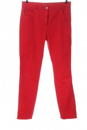 Olsen Stretch Trousers red casual look