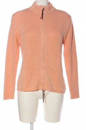 Olsen Cardigan nude cable stitch casual look