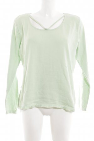 Olsen Strickpullover grün Casual-Look