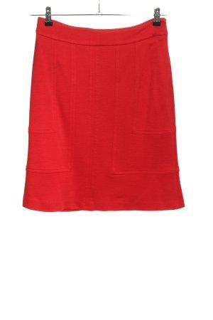 Olsen Gebreide rok rood casual uitstraling