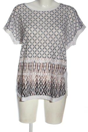 Olsen Camicia maglia motivo astratto stile casual