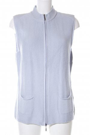 Olsen Knitted Vest blue casual look