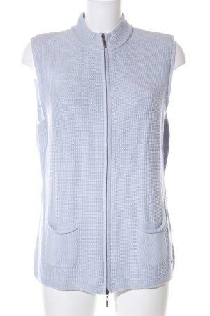 Olsen Gilet tricoté bleu style décontracté