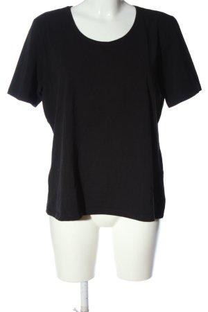 Olsen T-Shirt schwarz Casual-Look