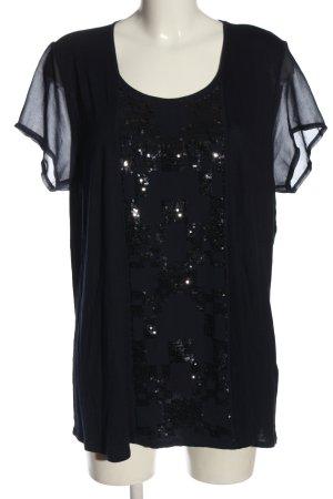 Olsen T-Shirt schwarz Elegant