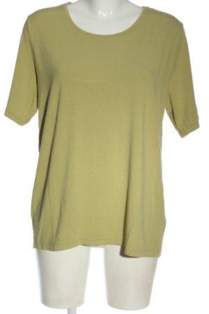 Olsen T-shirt verde stile casual