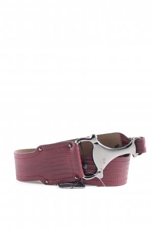 Olsen Cinturón pélvico rojo estilo «business»