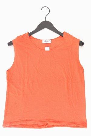olsen Top Größe 42 orange aus Viskose