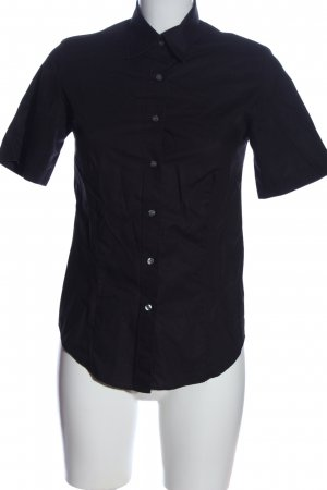 Olymp Camisa de manga corta negro look casual