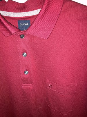 Olymp Polo Shirt dark red
