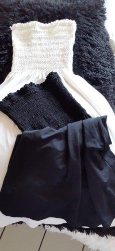 OLYMPIA**** Strand-/Sommerkleid weiss & schwarz