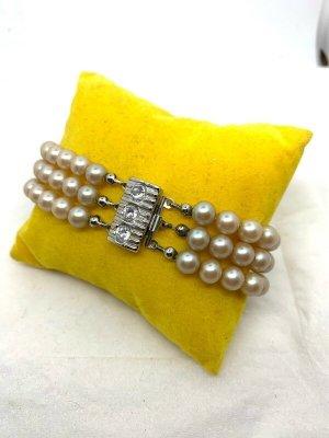 Bracciale di perle multicolore