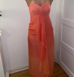 Ombre apricot Abendkleid gr12