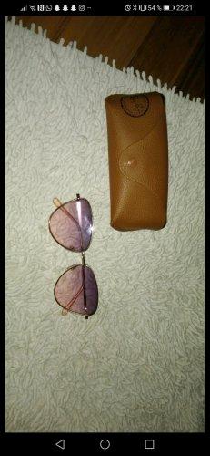 keine Hoekige zonnebril roze