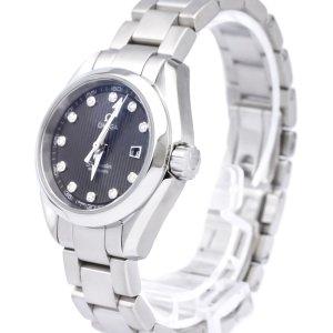Omega Stainless Steel Seamaster Aqua Terra Jewellery Quartz Watch 231.10.30.61.56.001
