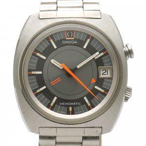 Omega Stainless Steel Seamaster Memomatic Automatic Watch 166.072