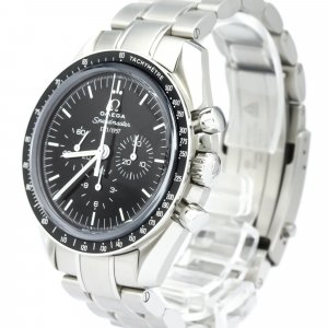 Omega Stainless Steel Speedmaster 50th Anniversary Mechanical Watch