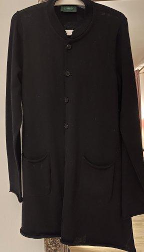 Omen Knitted Coat black wool